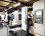 Bearbeitung - CNC machining of aluminium extrusion