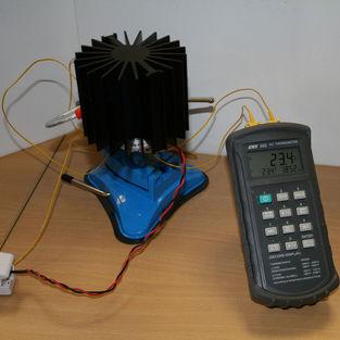 Решения вопросов теплового излучения и тепловые испытания -
